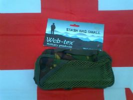## NEW ## WEB-TEX SMALL STASH BAG